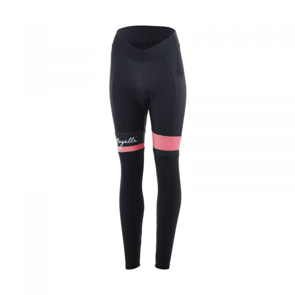 Rogelli ds collant select zwart / coral